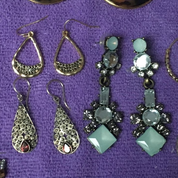 Jewelry - Fashion/Costume Jewelry Earrings, 10 Pairs